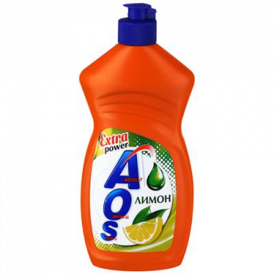 Средство для мытья посуды Aos Сила цитрусов лимон 450 мл