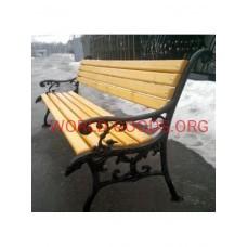 Скамейка Чугунная С-02 –2 метра