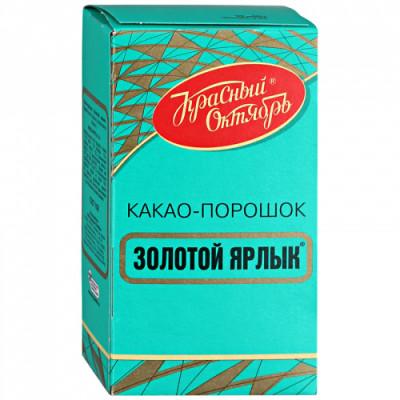 Какао-порошок Красный Октябрь Золотой ярлык 100 г