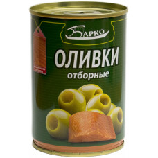 Оливки зеленые «Барко» фаршированные лососем, 280 г