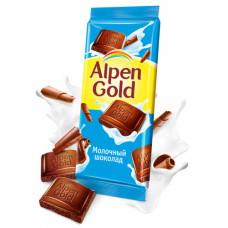 Шоколад Alpen Gold молочный 90 г