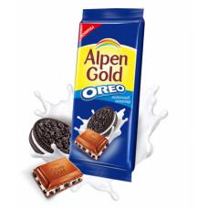 Шоколад Alpen Gold Oreo молочный 95г