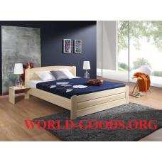 Кровать Агата деревянная