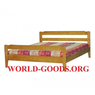 Кровать Дачная деревянная