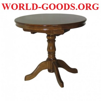 Стол обеденный Круглый деревянный раздвижной