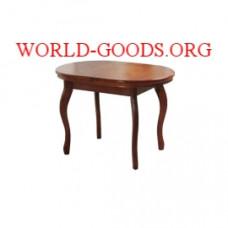 Стол Овальный четыре ножки деревянный обеденный