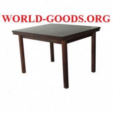 Стол Квадратный обеденный деревянный четыре ножки
