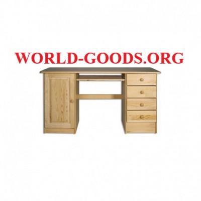 Стол Письменный большой ящик слева четыре ящика справа