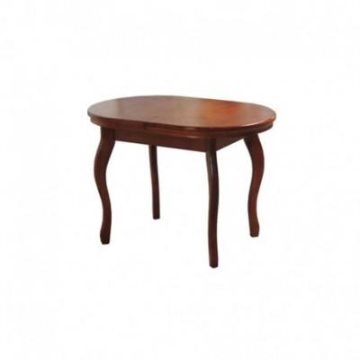 Стол, Овальный, ножки, деревянный, обеденный