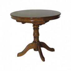 Стол, обеденный, Круглый, деревянный
